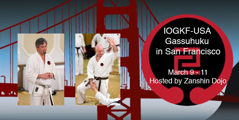 <p>Zanshin Dojo will be hosting the IOGKF-USA Gasshuku in 2018. This Gasshuku is special as it is Zanshin Dojo&#8217;s 20th anniversary! The Gasshuku will be held at Zanshin Dojo and Gateway High School on March 9th &#8211; 11th. As part of this Gasshuku, we are proud to welcome World Vice [&hellip;]</p>
